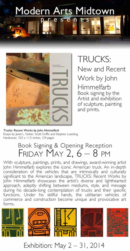 Trucks: Recent Work by John Himmelfarb | an exhibition and book signing event