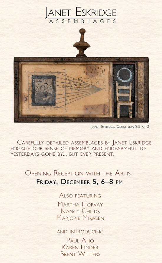 Janet Eskridge: Assemblages