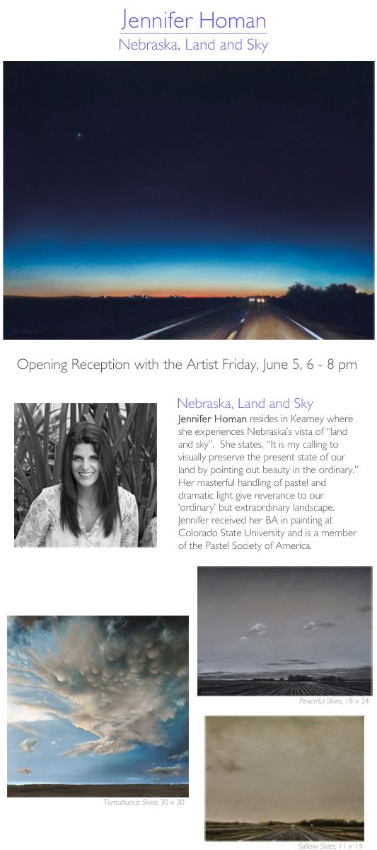 Jennifer Homan: Nebraska, Land and Sky