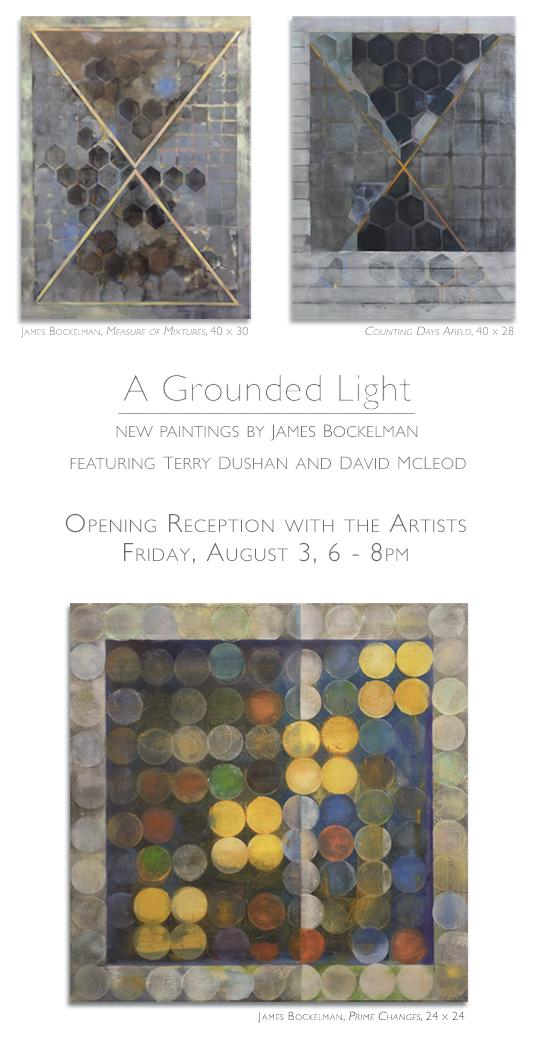 A Grounded Light: New Paintings by James Bockelman