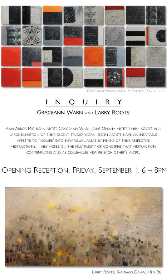 Inquiry: featuring Graceann Warn and Larry Roots