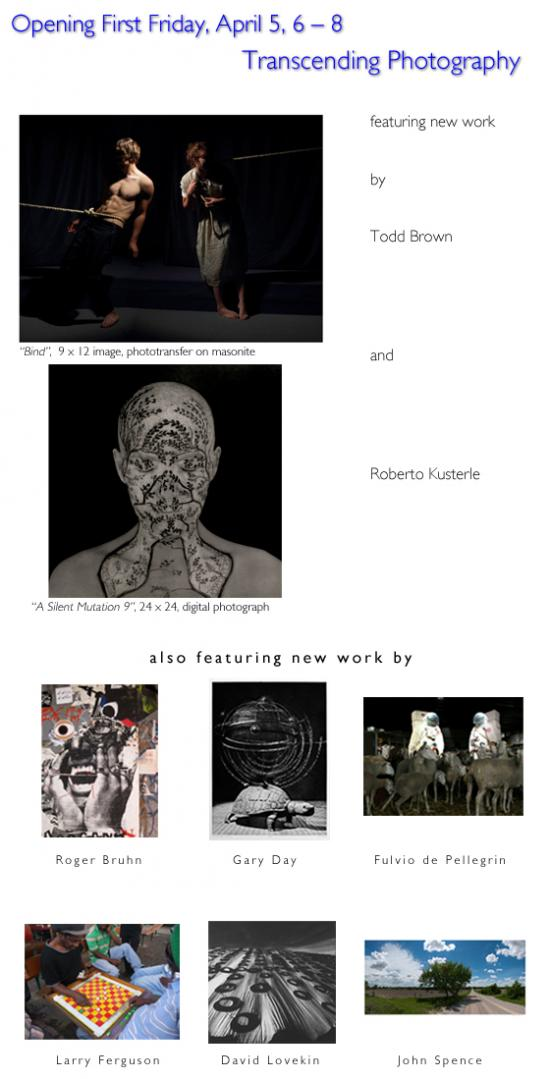Transcending Photography: featuring Todd Brown and Roberto Kusterle