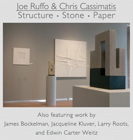 Joe Ruffo & Chris Cassimatis: Structure • Stone • Paper