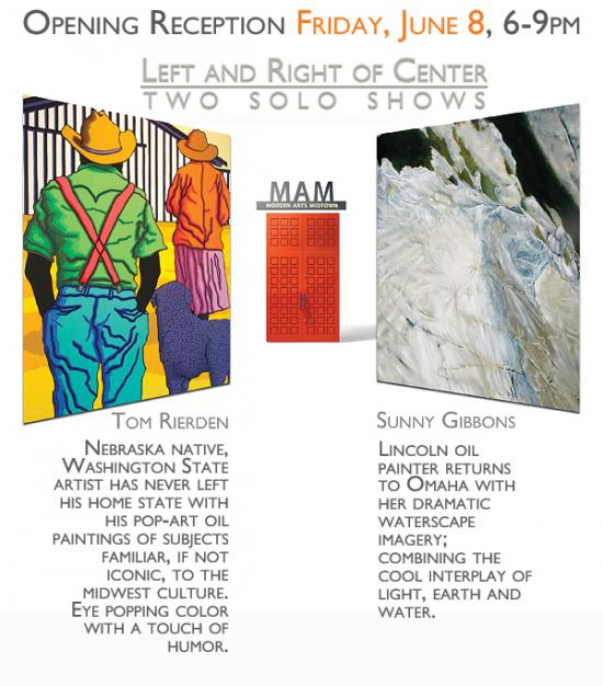 Tom Rierden and Sunny Gibbons: Left and Right of Center