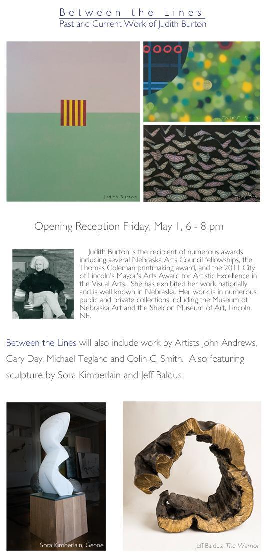 Judith Burton: Between the Lines