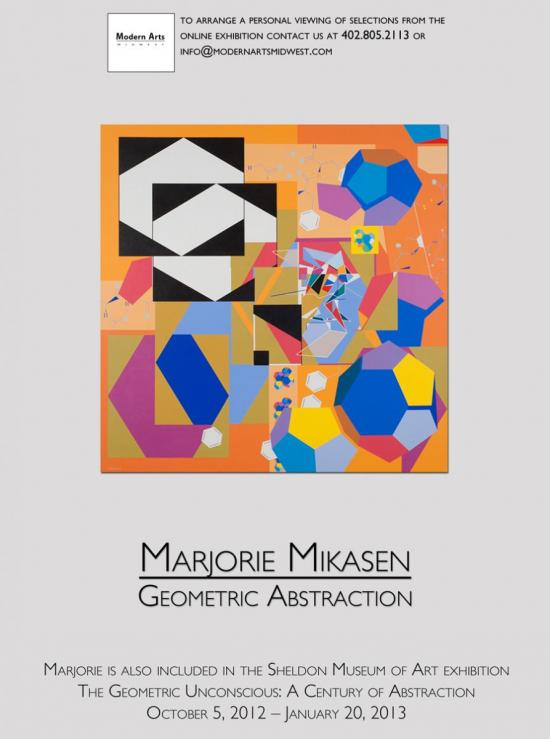 Marjorie Mikasen: Geometric Abstraction